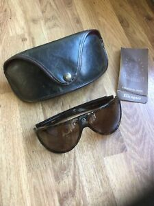 Vintage Belstaff Elicopter BF5-060 Sunglasses With Leather Case
