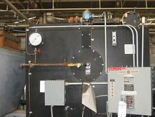 PARKER LOW PRESSURE STEAM BOILER 150HP, LOW NOx SO CAL AQMD LEGAL