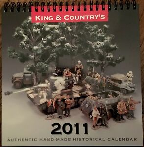 King & Country 2011 Desk Calendar for Toy Soldier Collectors