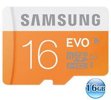 SAMSUNG CLASS10 microSDHC EVO 16GB 16G micro SD micro SDHC Memory Card 48MB/s *