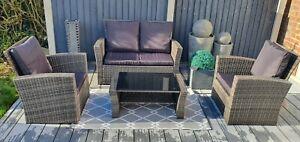 Rattan Furniture, Garden Set, Garden, Patio, Very High Quality, UK STOCK