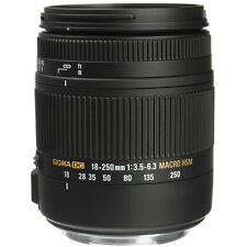 Sigma DC 18-250mm F/3.5-6.3 OS HSM DC Lens For Canon - Sigma Authorized Dealer