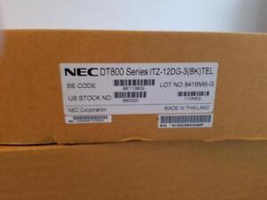 NEC ITZ-12DG-3(BK) TEL DT800 Display Phone 660020