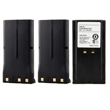 3X 2100mAh Knb17 Knb-17 Battery for Kenwood Tk-280 Tk-380 Tk-480