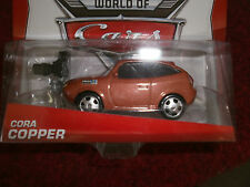 DISNEY PIXAR THE WORLD OF CARS CORA COPPER NEW
