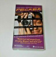 DEEP BLUE SEA / PECKER PREVIEW TAPE PAL VHS JOHN WATERS