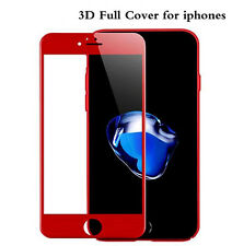 VITRE VERRE TREMPE RED Rouge 3D Film Protection 9H Ecran iPhone 6/6S Plus