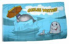 Flagge / Fahne Geiles Wetter Hissflagge 90 x 150 cm