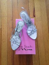 Cocktail party womens shoes Silver