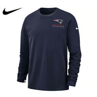 New England Patriots Nike Sideline Performance Pullover Sweatshirt Men's Size L