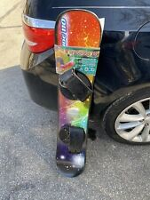 ESP 110 cm Freeride Snowboard with Adjustable Bindings Graphic Make A Fair Offer