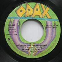Rock 45 Warfield County - What Do You See In Marvin / Stained Glass Windows On O
