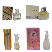 Ladies Miniature Perfume Gift Travel Giorgio Anna Sui Burberry Extreme Set of 4