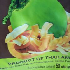 Coconut Chips Fruit Crispy Snack Delicious Natural Product Of Thailand 50g