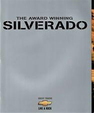 1999 Chevrolet Silverado 1500 2500 LS LT Deluxe Pickup Truck Sales Brochure