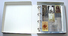 Archival Acid Free Clamshell Photo Binder Box (335 x 295 x 70 mm approx.)
