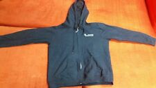 Mens Heavy Blend Medium M Hoodie Jacket, Black, Gildan, Long Sleeve