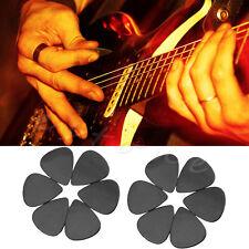 New Arrival 12Pcs Black Celluloid The Guitar Pick Size 0.71mm Fashion