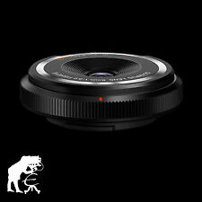 Olympus Body Cap Lens Fisheye 9mm 1:8 .0 Noir 140 ° secondaire * Objectif grand angle
