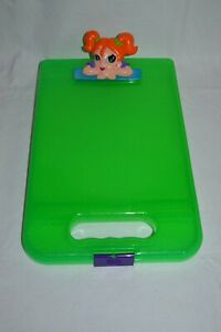 Vintage Collectible Lisa Frank Girl Face Clipboard Storage Case