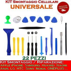 Kit smontaggio cellulari universale Riparazione cellulari Smontaggio smartphone