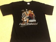 CARRIE UNDERWOOD Live 2006 Tour Tee Shirt - Medium Black T-Shirt