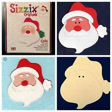 Sizzix Die Santa Claus Head St.Nick Scrapbook Christmas Diecut Holiday Cards NEW