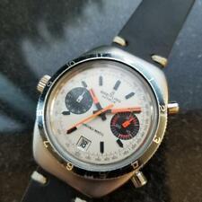 Uomo Breitling Geneve Chrono-Matic Automatico Cronografo, C.1970s Vintage MX82