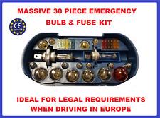 Spare Bulb Fuse Kit-Headlamp,Indicator,Tail Light,Travel Fiat Ducato Van Camper