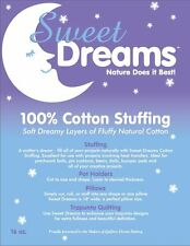 Quilters Dream Sweet Dreams Stuffing 1 pound bag