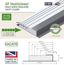 Dacatie Cavity Closers for 50-100mm Cavities - 24metres = 2.4m x 10 Lengths