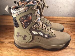 UNDER ARMOUR CHARGED RAIDER HUNTING BOOTS MENS SZ. 9 / 42.5 NEW WITH TAGS