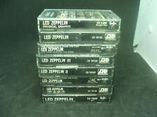 Collection Of Led Zeppelin Cassette Tapes 8 Albums Total AWESOME!