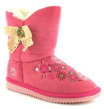 Scarpe Stivali in pelle rosa per bambine dai 2 ai 16 anni