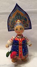 Russian Matryoshka Hand-Made Linden Wood Doll Medium #20