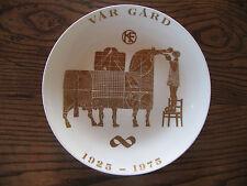 Gustavsberg Stig Lindberg golden horse decorative plate from 1975 very rare