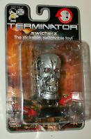 2005 Terminator T1 Exoskeleton Figure Head Swicherz Stickable Toy New NOS MOC
