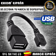 Cable OTG USB 2.0 Hembra a Micro USB Macho On The Go Pen Drive Adaptador