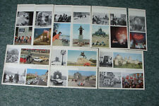 LENINGRAD DURING THE DAYS OF THE WAR AND IN PEACE TIME - USSR PHOTO CARDS