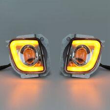 Rectangular LED Fog Light Kit For Honda GoldWing GL1800 F6B 13-17 Valkyrie 14-15