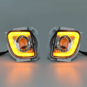 Rectangular LED Fog Light Kit Fit For Honda GoldWing GL1800 F6B 2012-2017 2013