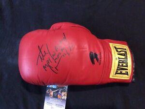 HECTOR MACHO CAMACHO SIGNED BOXING GLOVE IBHOF WBC EVERLAST JSA COA