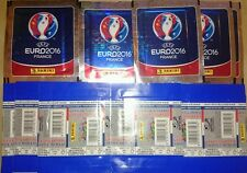 19 Sobres Sachet Booster Bustina Packet UEFA Euro 2016 France Stickers Figurine