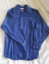 Van Heusen men's blue dress shirt size 17