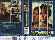 CHATTAHOOCHEE - 2 x sleeve VHS - PAL - NEW - Never played! - Original Oz release