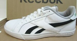 Reebok Size 10.5 White Leather Sneakers New Mens Shoes