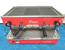 Futurmat Rimini 2 Group Espresso machine 208-240V. 2.6Kw/14 Amp