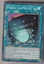 Yu-GI-OH Portal der Sechs Super Rare SPWA-DE014 NEU!