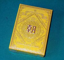 Magie jeu 54 cartes Imperial Chao jaune - Make Playing Cards - Neuf cellophané