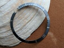Vintage Rolex Bluish Silver Fat Font Bezel Insert for 1665,1680 More FOR REPAIR